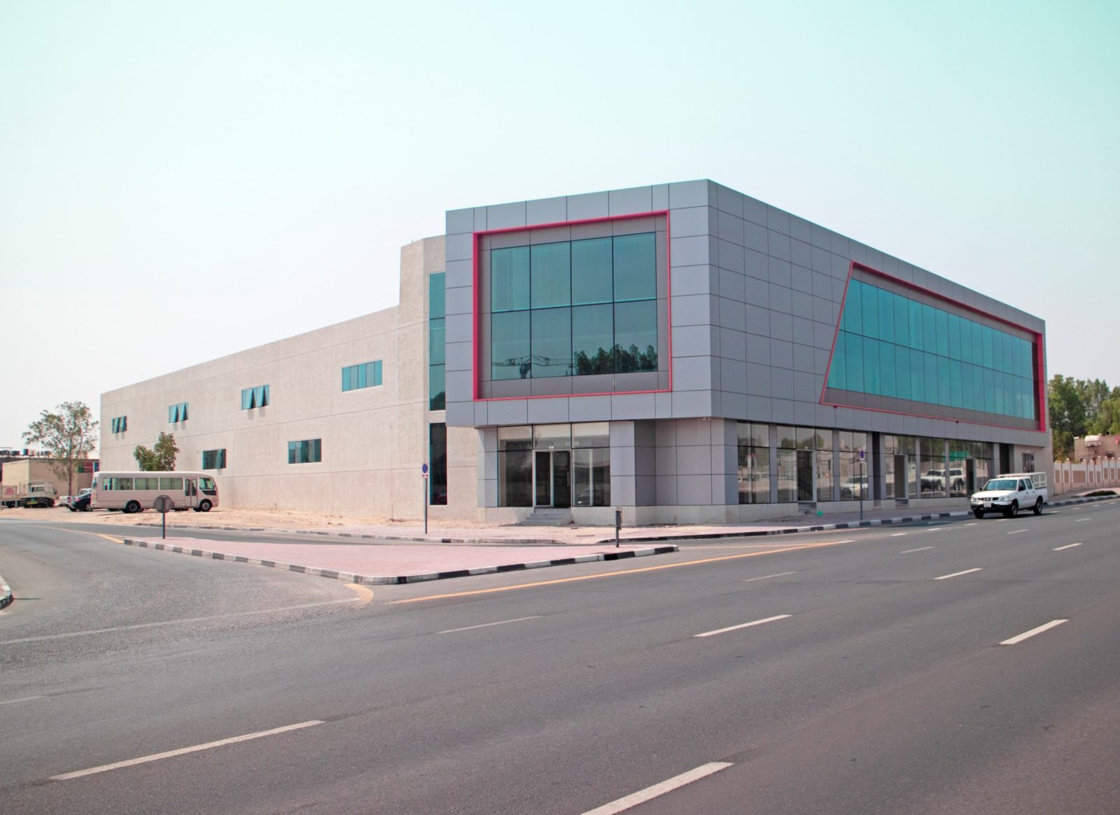 Construction of G+M+1+R Warehouse, Retail & Offices