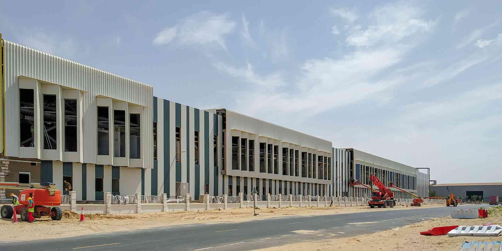 Fabrication Workshop & Offices for Galadari Engineering Workshop