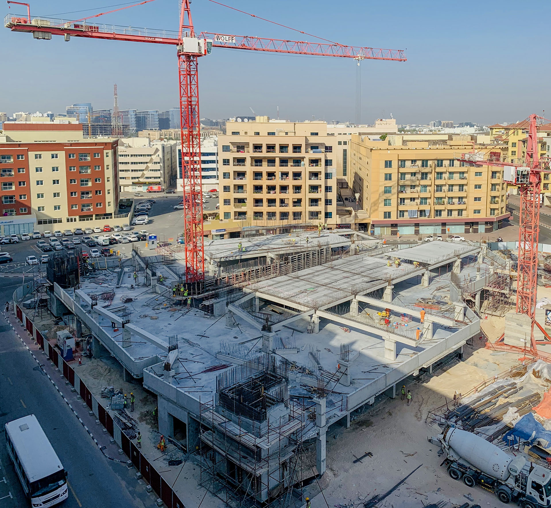 Oud Metha Bus Station and Parking Structures – RTA