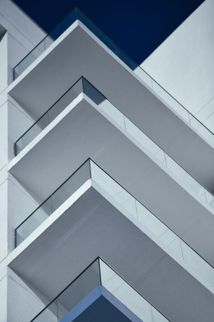 Upward shot of the Wasl Properties
