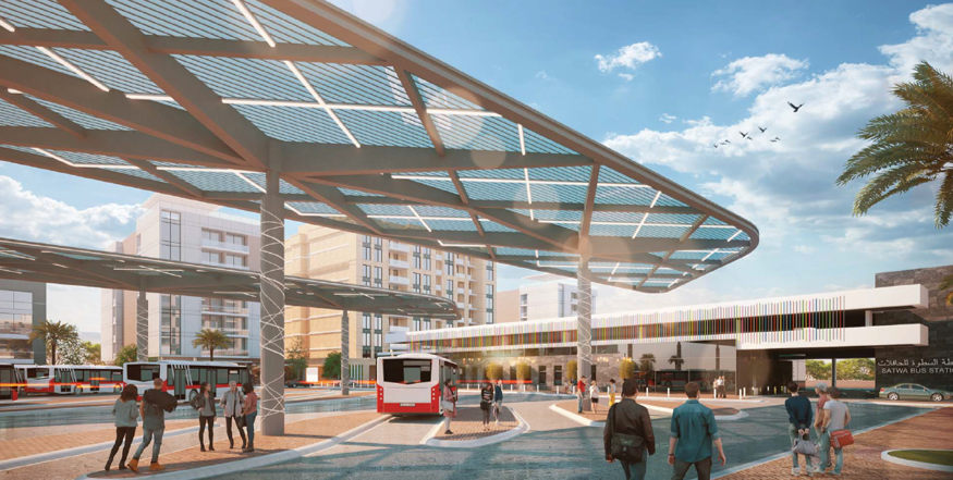 Satwa Bus Station and Parking Structures – RTA