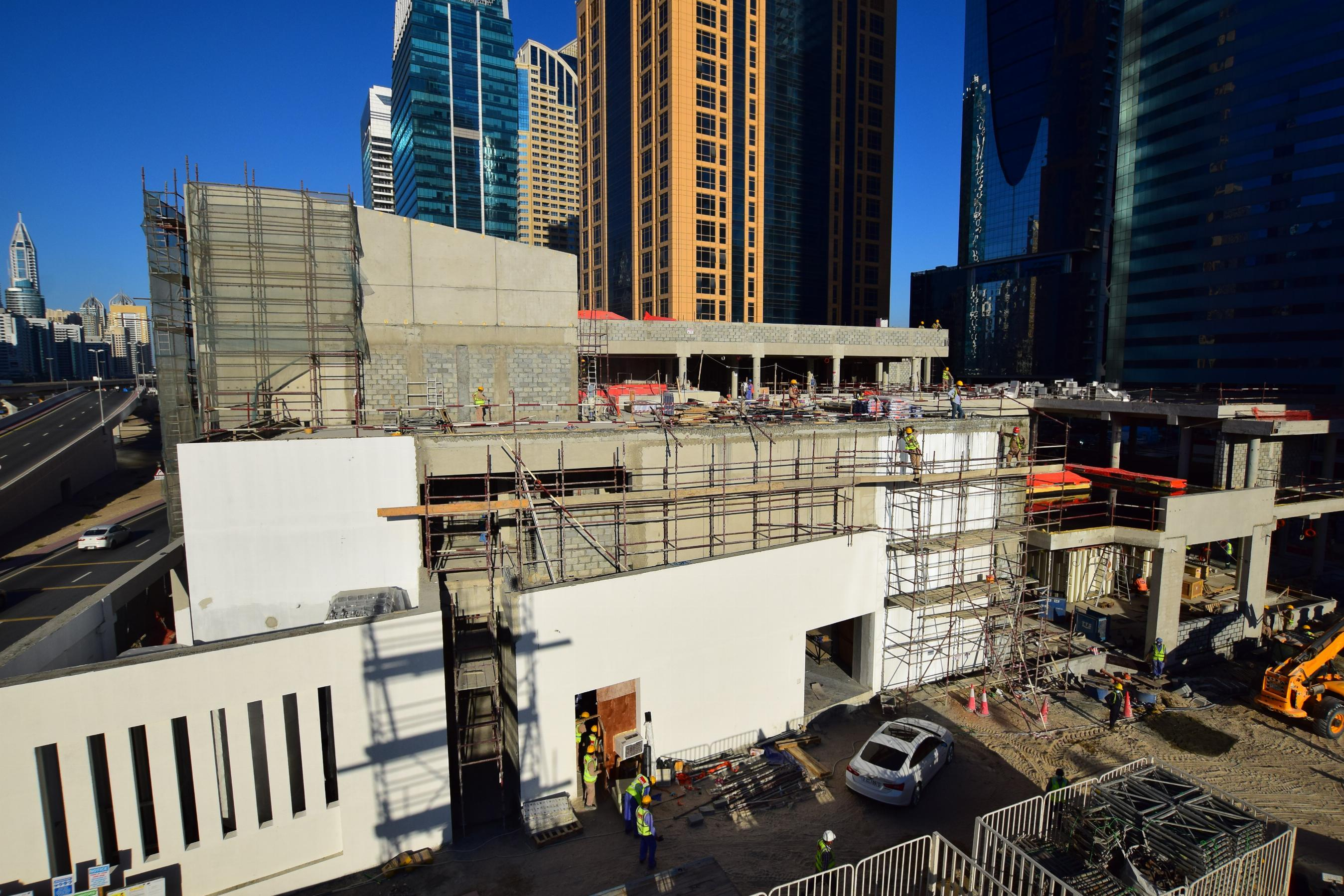 JLT Specialty Clinic Timelapse Images