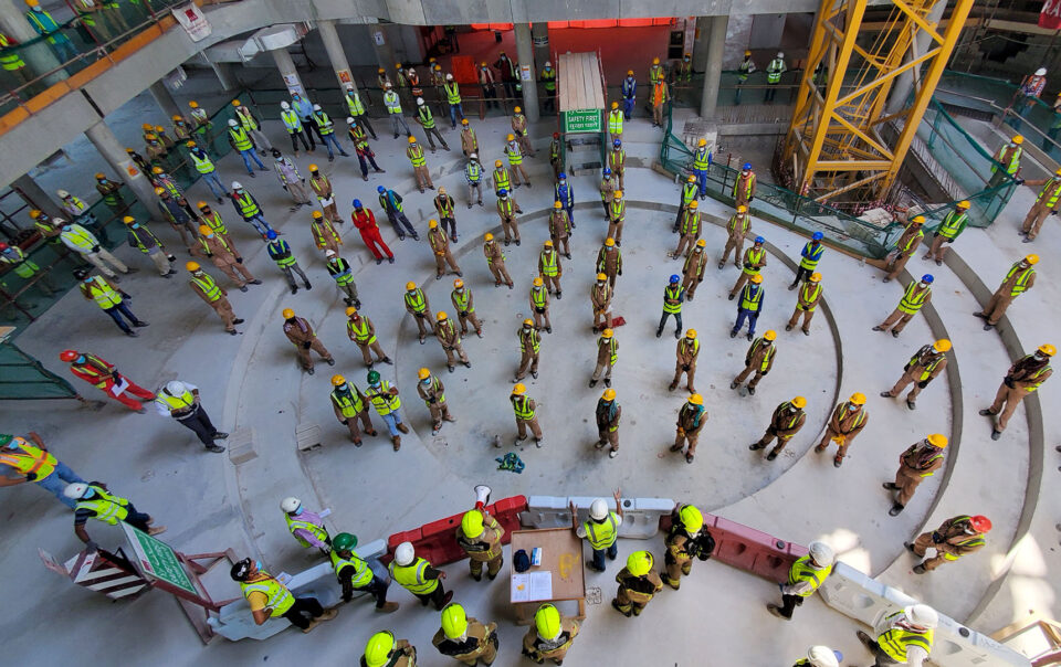 DP World Pavilion Safety Week