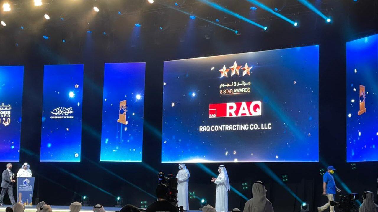 RAQ wins prestigious 3star taqdeer awards